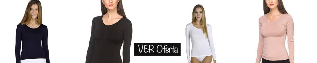 camiseta termica mujer black friday