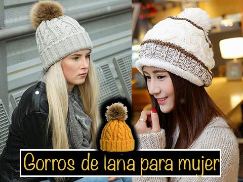 gorro de lana mujer sombreros y gorros para mujer ropa para frio intenso