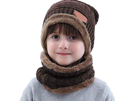 gorro de lana mujer gorro con braga para niño prendas para abrigar niños