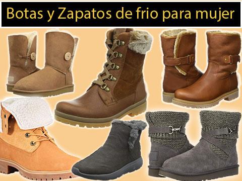 botas de frio y zapatos de invierno para mujer comodas como las zapatillas