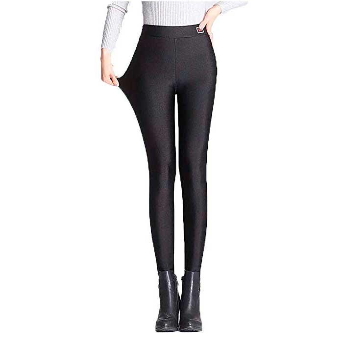 Pantalones Termicos De Brillo Para Mujer Woufit