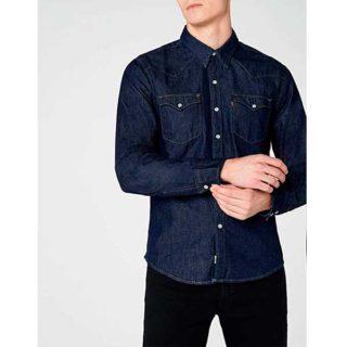 camisa de mezclilla para citas outfit hombres