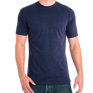camiseta color navy para homre camiseta corta