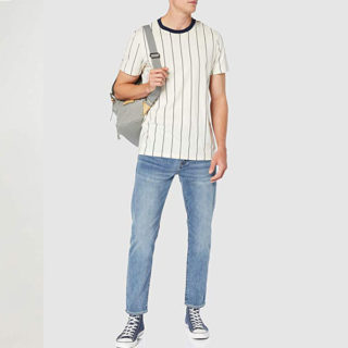 pantalones de mezclilla colores claros hombre delgado outfits