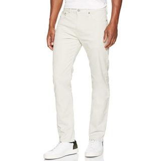 pantalones de mezclilla hombre color Blanco