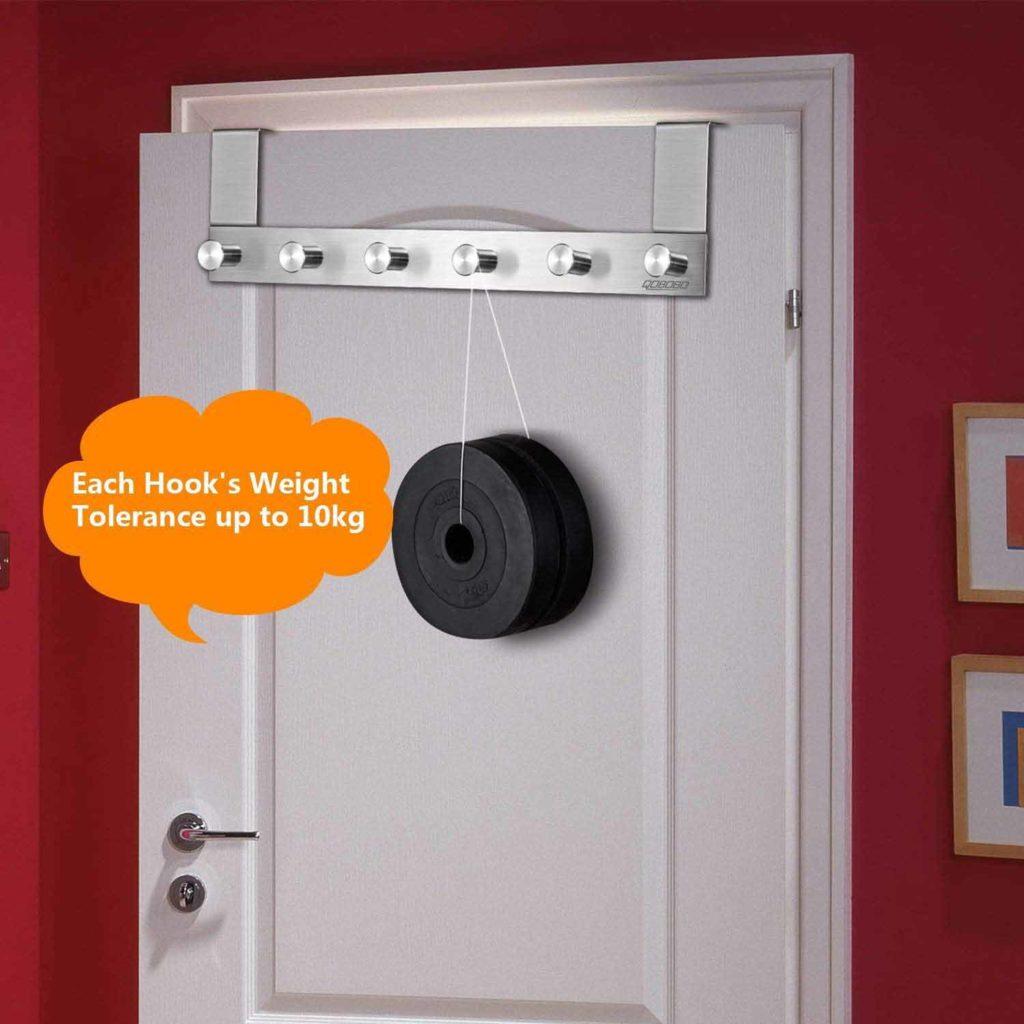 perchero colgador para puerta