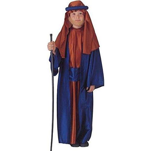 foto del disfraz de san Jose para procesión de niño por semana santa