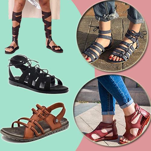 sandalias para semana santa, modelos romanos y hebreos