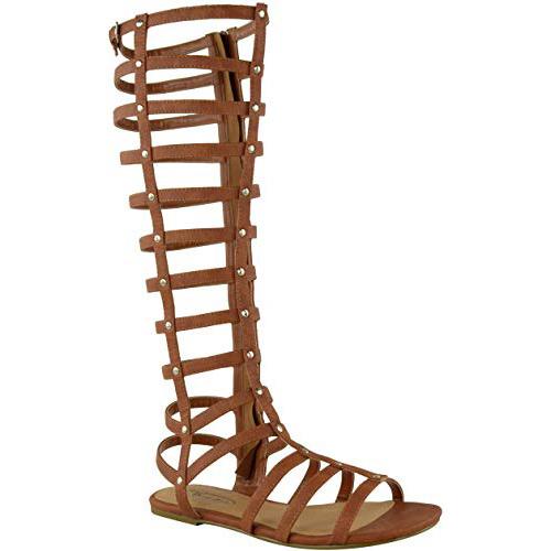 sandalias de gladiador para mujer