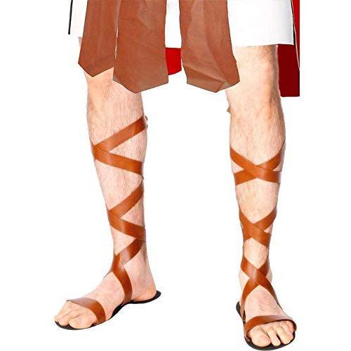sandalias de gladiador romano