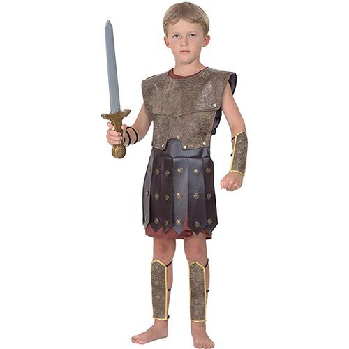 imagen de traje de guerrero romano para representacion de la pasion de cristo