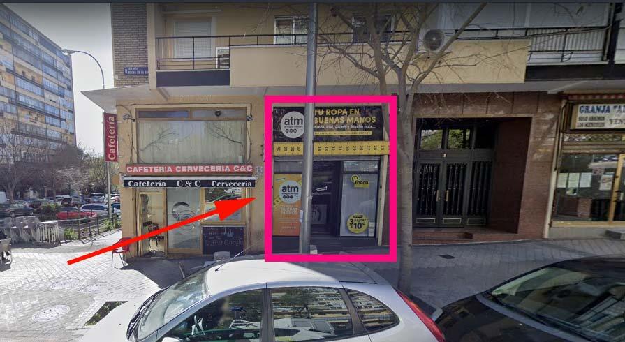 Atm boutique y tienda para arreglo de ropa en madrid